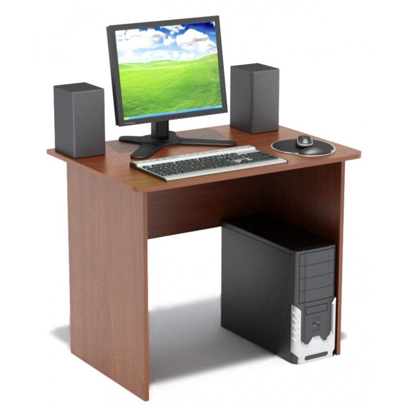 Компьютерный стол сокол спм-01. 1в венге, сокол.